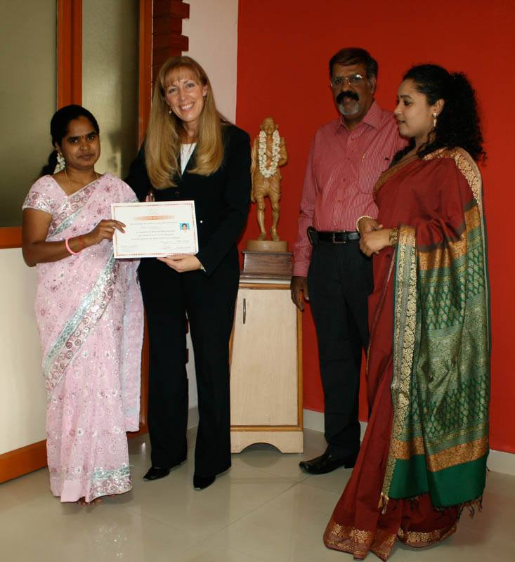 NGNA President Visit elder care service in bangalore